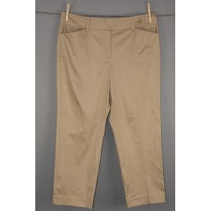 Ann Taylor Signature Straight Cropped Pants NEW.